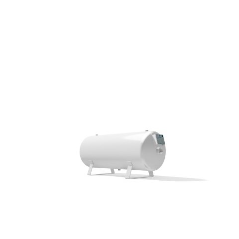 Vacuum vessel 90 litre horizontal -1 bar